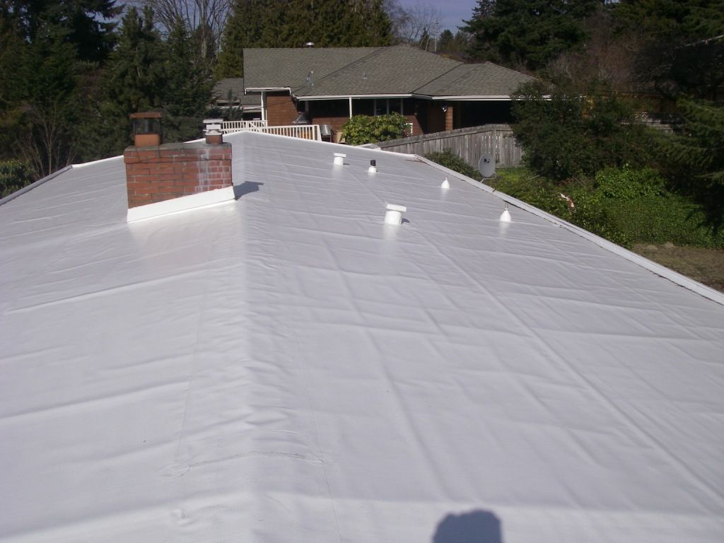Pvc Flat Roof Installation Pvc Roofing Roofing Services Roofing