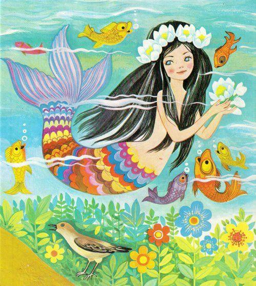 Felicitas Kuhn Die Kleine Meerjungfrau Mermaid Art Mermaid Pictures Mermaid Coloring