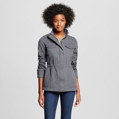 Women's Lightweight Utility Jacket - Merona™ | Clothes - Outfits ...
