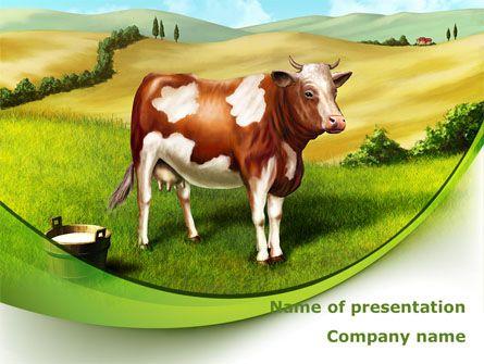 Httppptstarpowerpointtemplatecow on the nature cow on business presentation toneelgroepblik Images