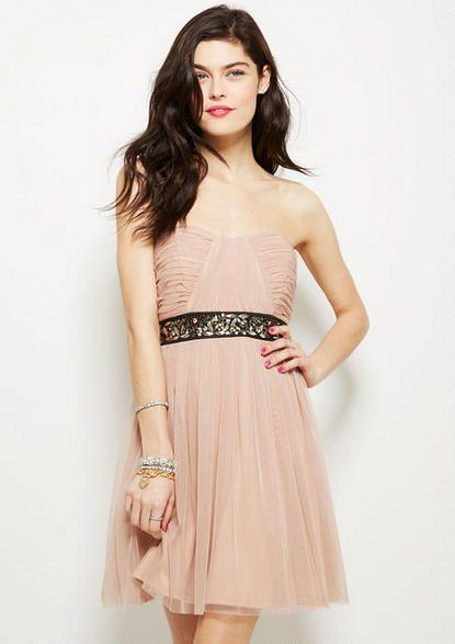 a0917cc079be4b Embellished Waist Dress