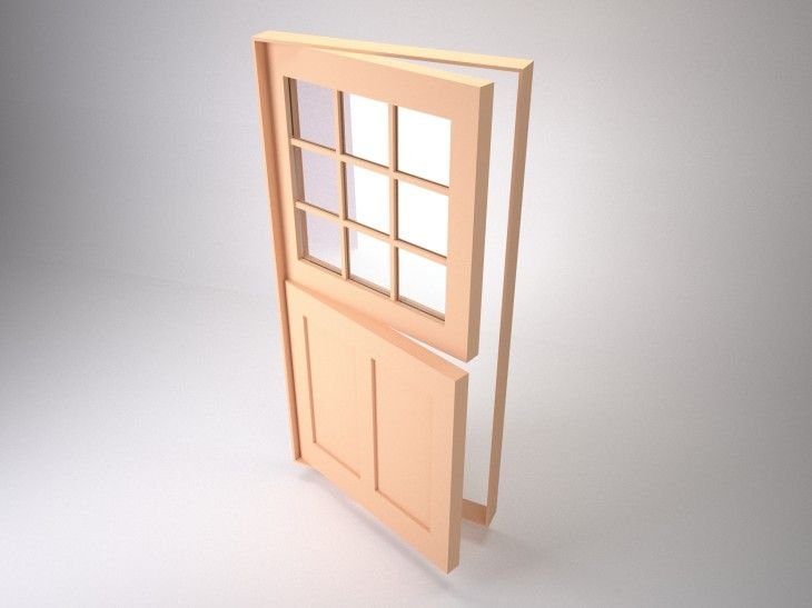 #DutchDoors - a door ided horizontally in such a way that the bottom half may : divided door - Pezcame.Com