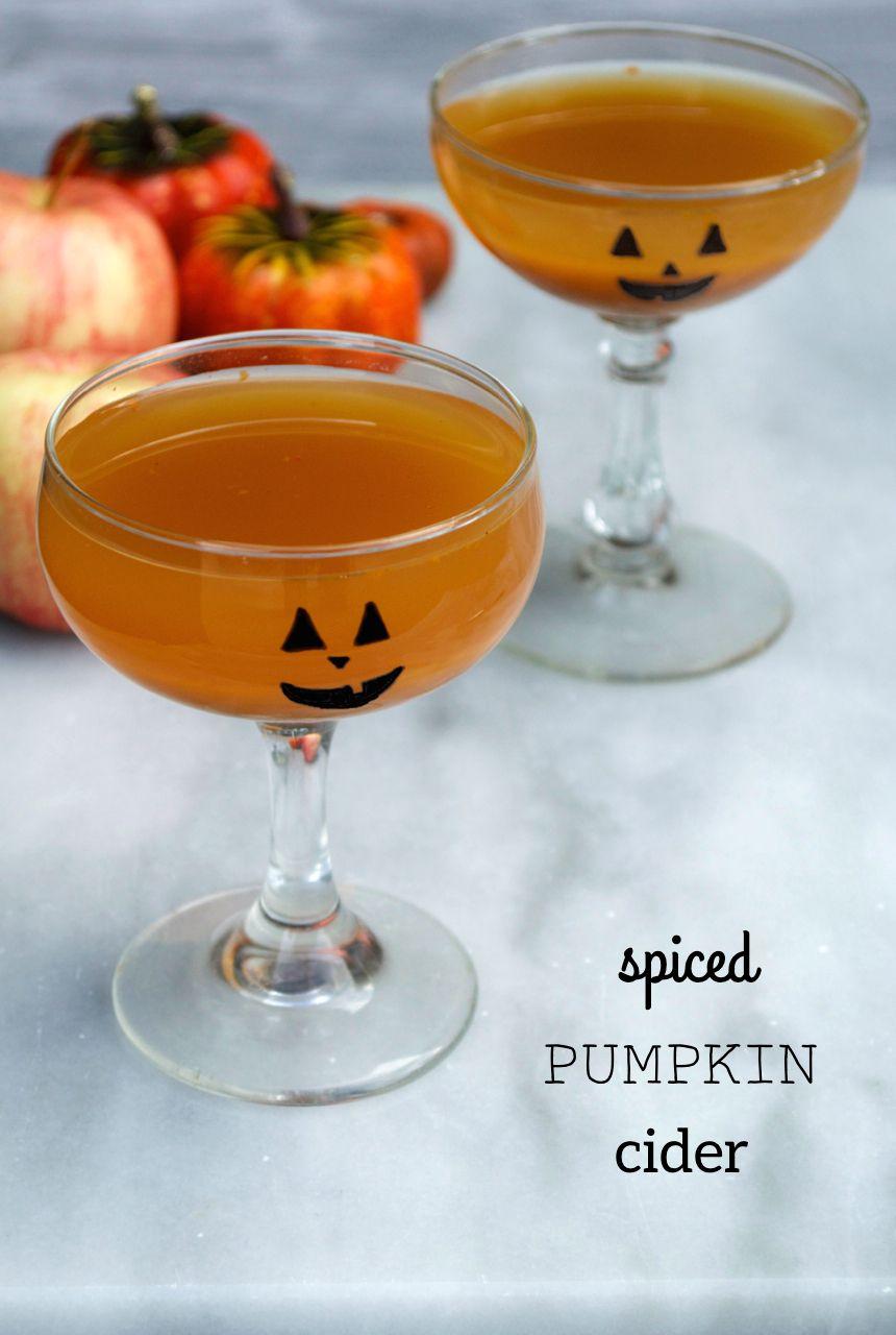 Spiced Pumpkin Cider Recipe Pumpkin spice, Paleo drinks