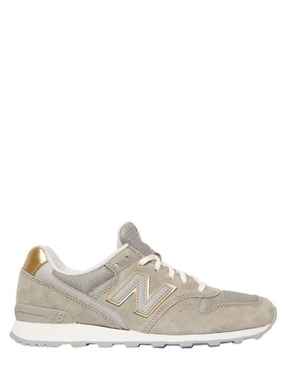 detailing fd798 80d18 New Balance - 996 Suede & Mesh Sneakers | style, clothes ...