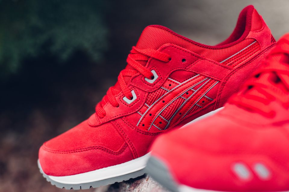 save off 97b02 a5562 ASICS Release GEL-Lyte III in Red Suede as Part of the ...