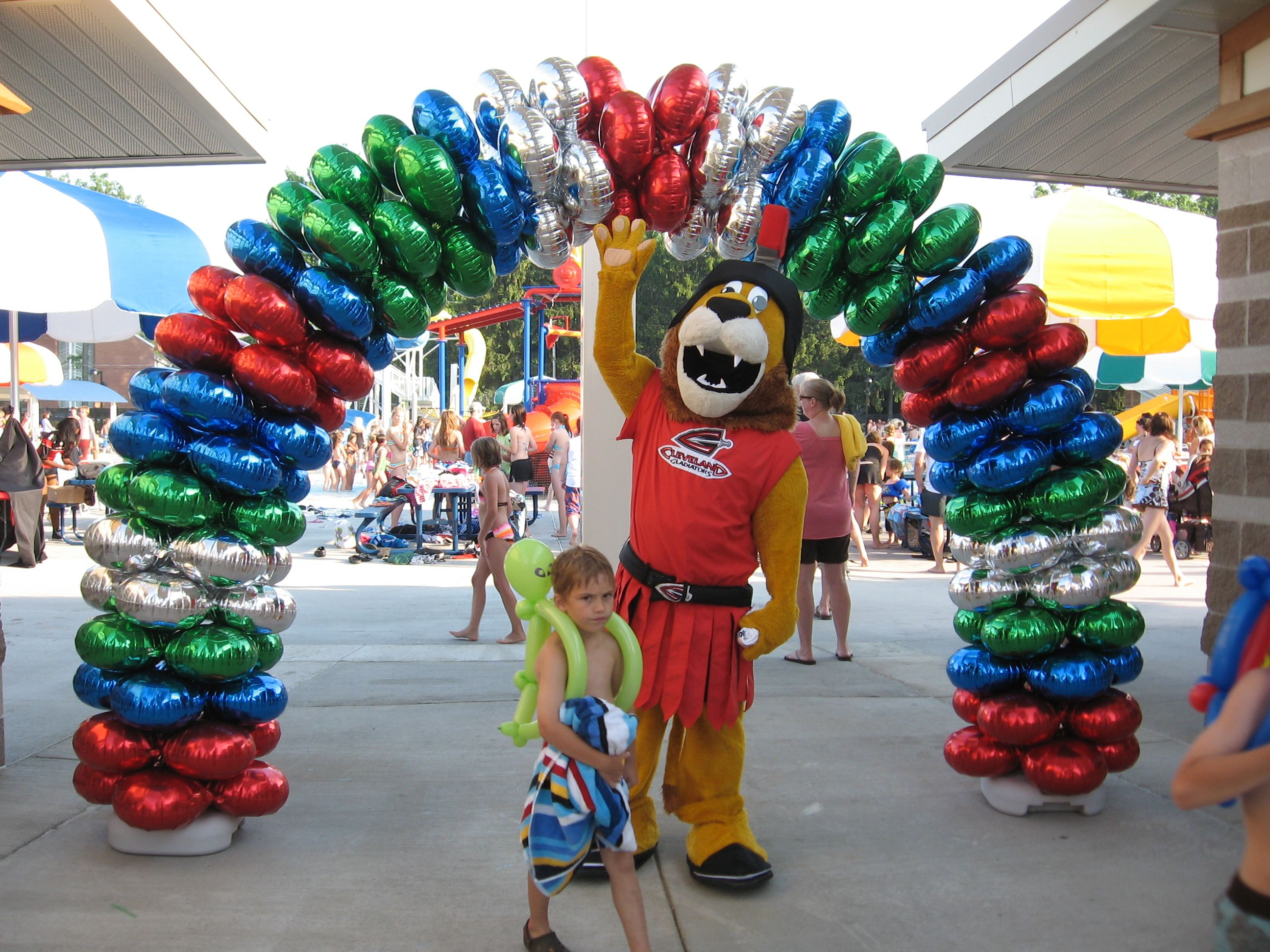 balloons add more fun