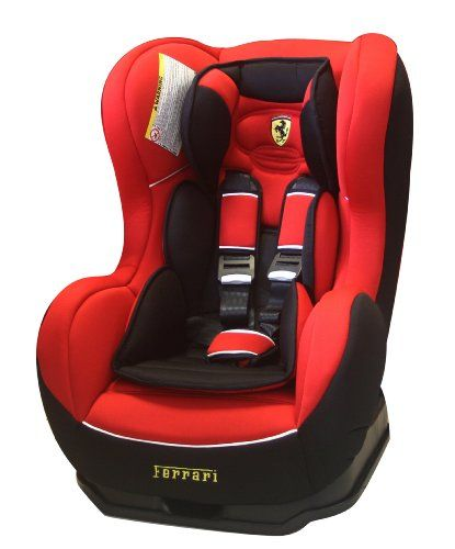 Ferrari Cosmo Car Seat (Red/Black, 0 to 4 Years)