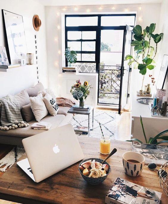 Modern Bohemian Apartment Decor