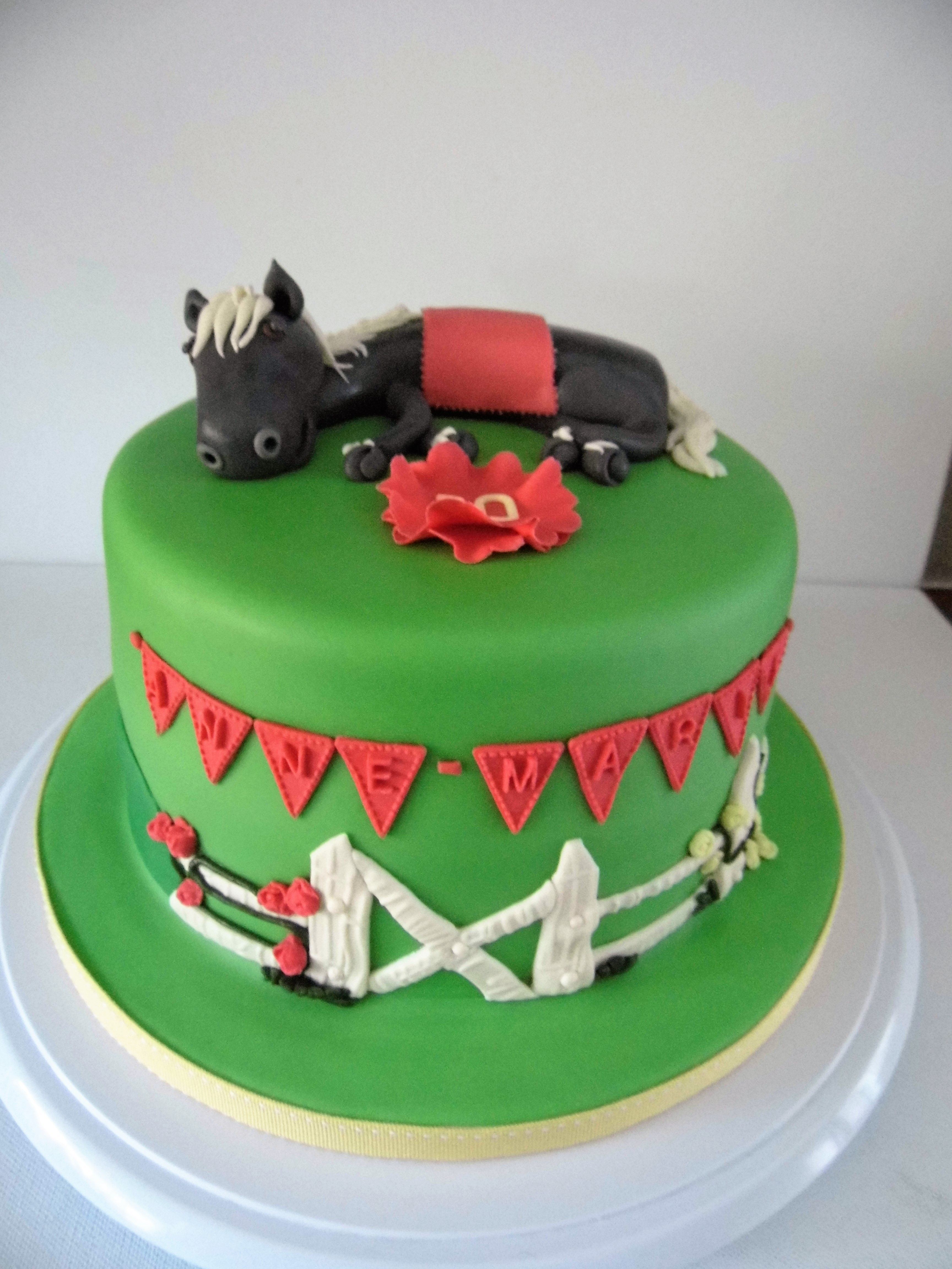 A horse a horse a cake or a horse we have both in a