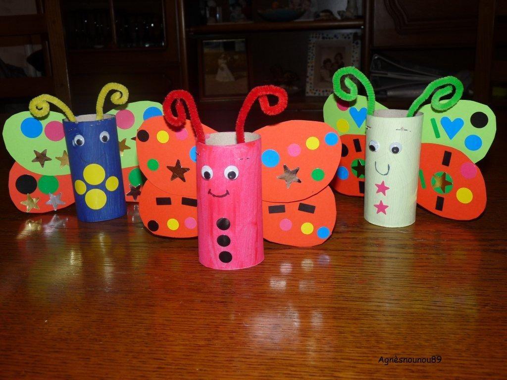 Activité Manuelle Avec Du Papier Peint rouleau de papier toilette recycle activité | les enfants