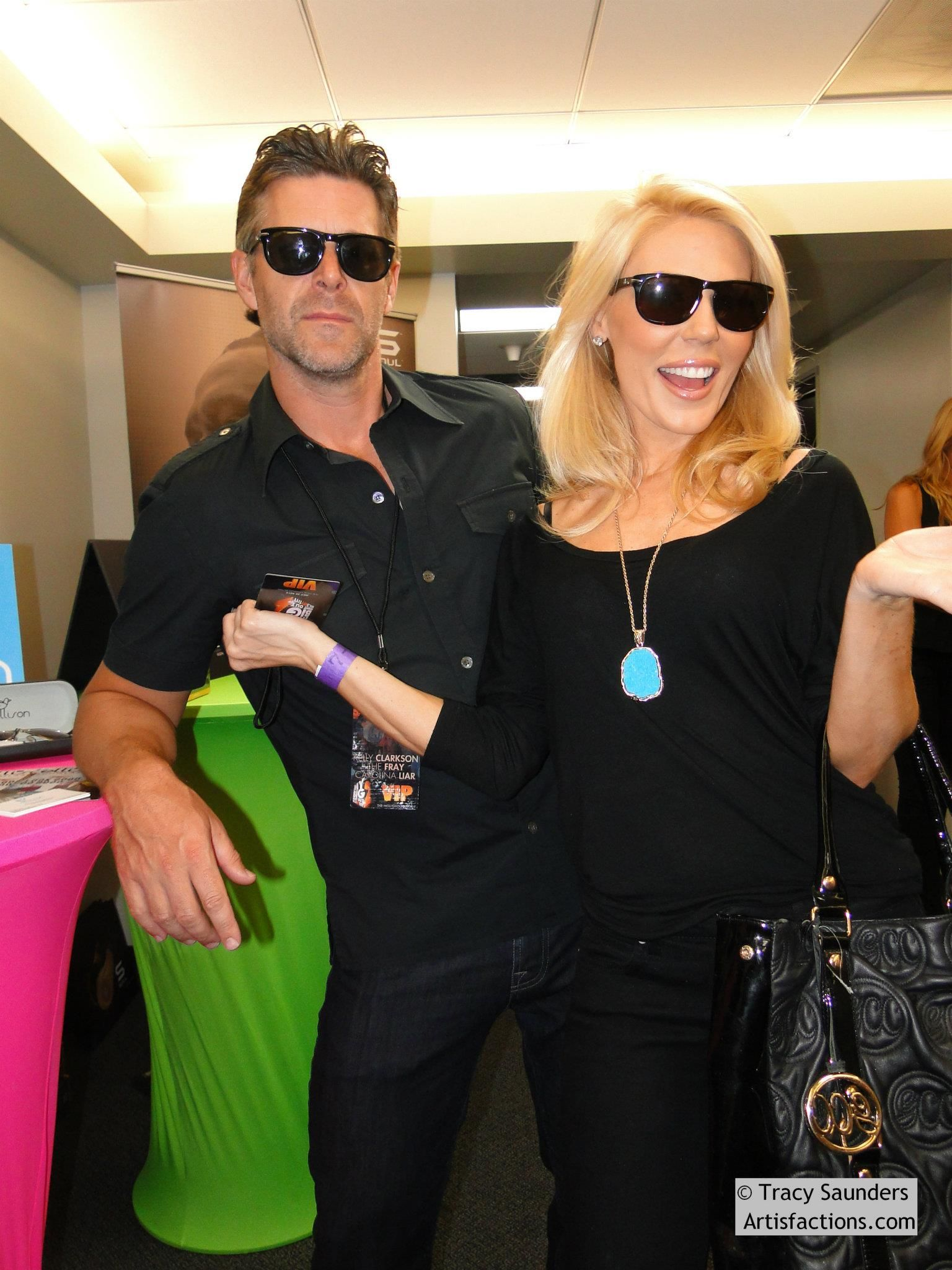 f3b891dcd10 Gretchen Rossi and Slade from Beverly Hills Housewives rockin  Ellison  Sunglasses. Each pair bought