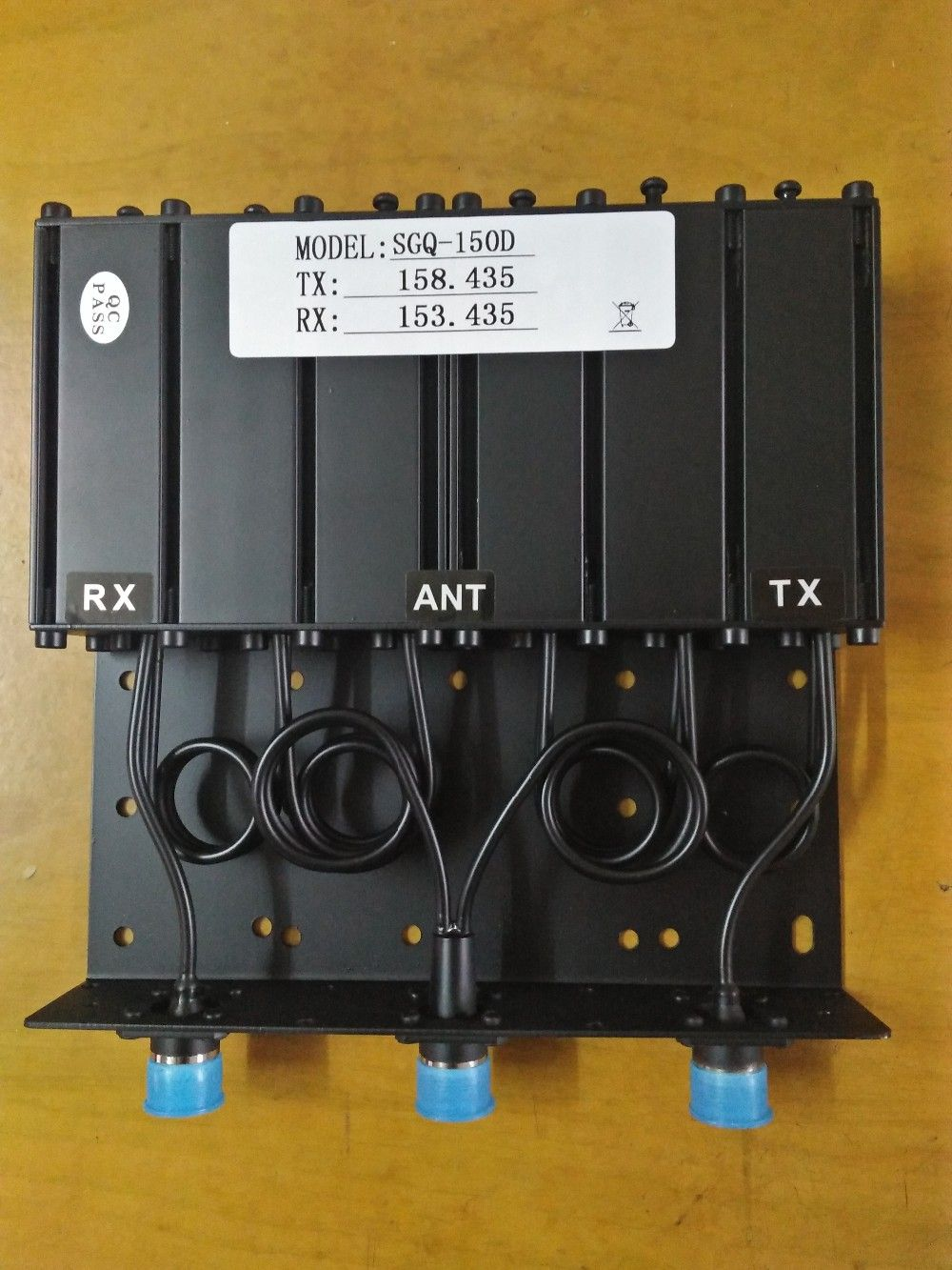 Stable Vhf 50watt Sgq-150d Duplexer For Radio Repeater Or Mobile