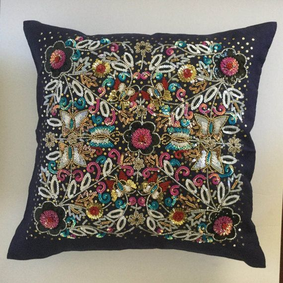 Hand Embellished Decorative Pillow Pillows And Creative Simple Embellished Decorative Pillows