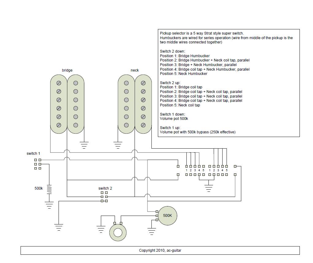 Fender 5 Way Super Switch Wiring Diagram Wire Harness Schematic Google Search Guitar
