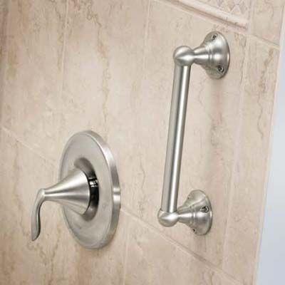 Top Five Bath Trends Grab bars in bathroom, Bathroom