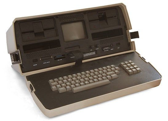 The VERY FIRST Portable Computer!  —  ( How the Trusty Old Laptop Switched Into Something New - iQ by Intel )