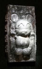 Mickey in Carbonite by Evilos