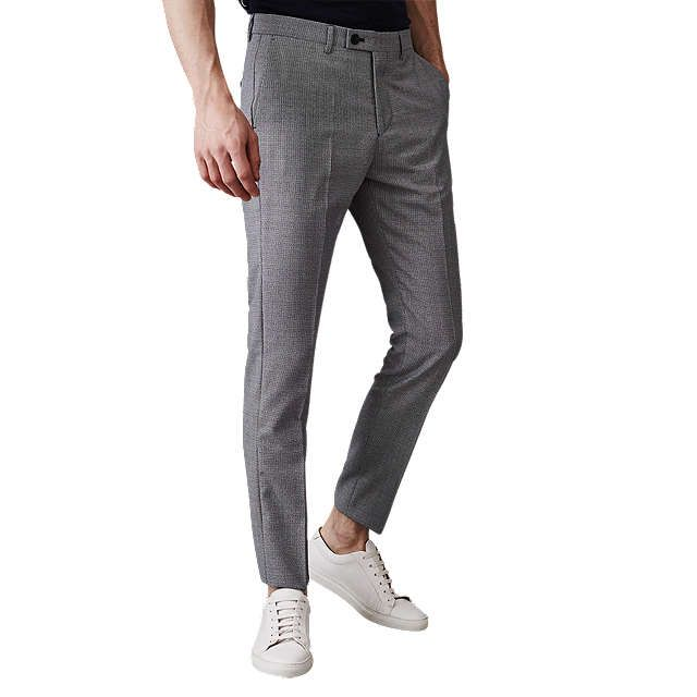 70c322ca2860 BuyReiss Wangle Slim Fit Puppy Tooth Trousers