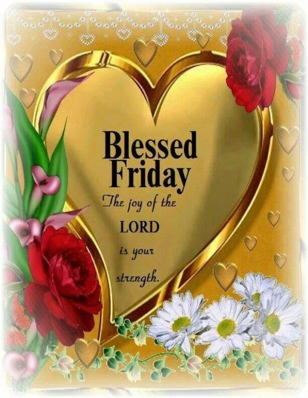 Have a Blessed Friday Pinners !!