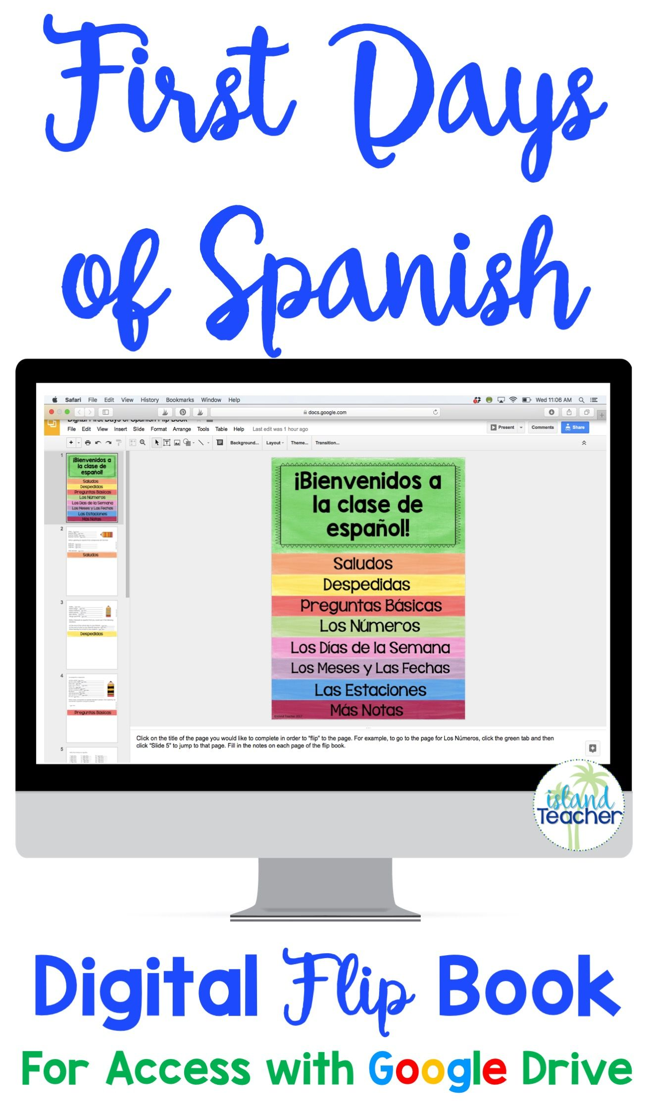 Introduce Or Review The Basics Of Spanish With This