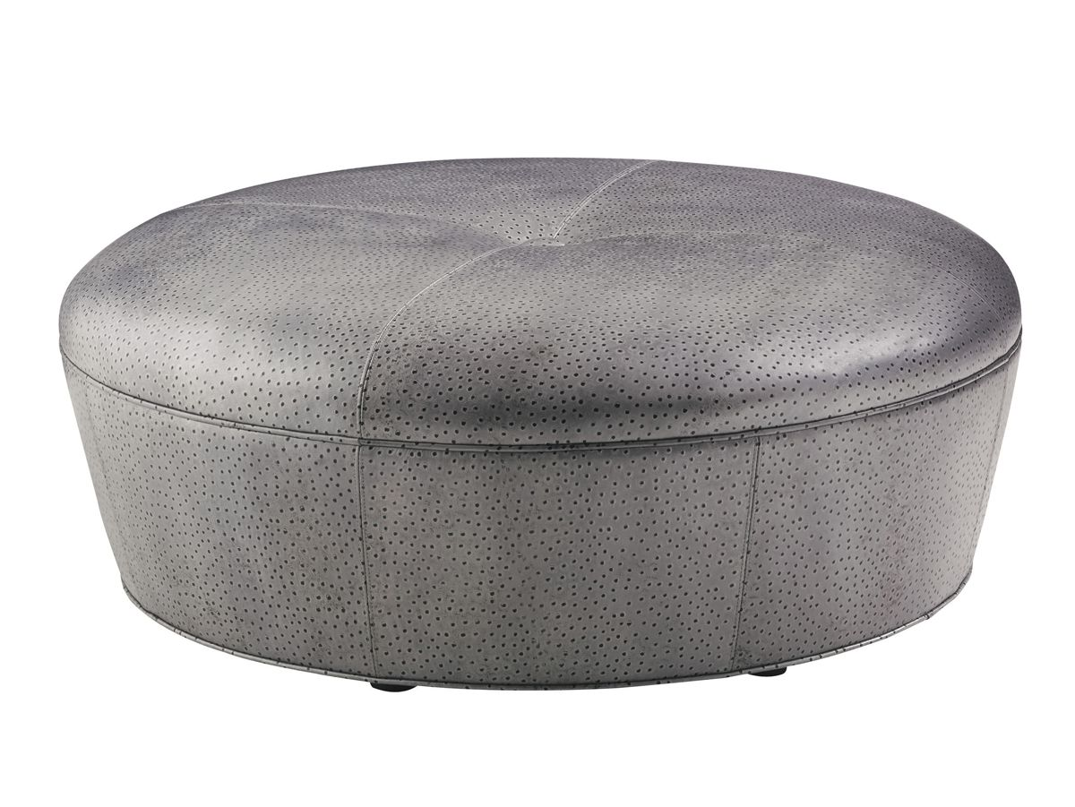Enjoyable Ostrich Leather Ottoman Lexington Home Brands Furniture Pdpeps Interior Chair Design Pdpepsorg