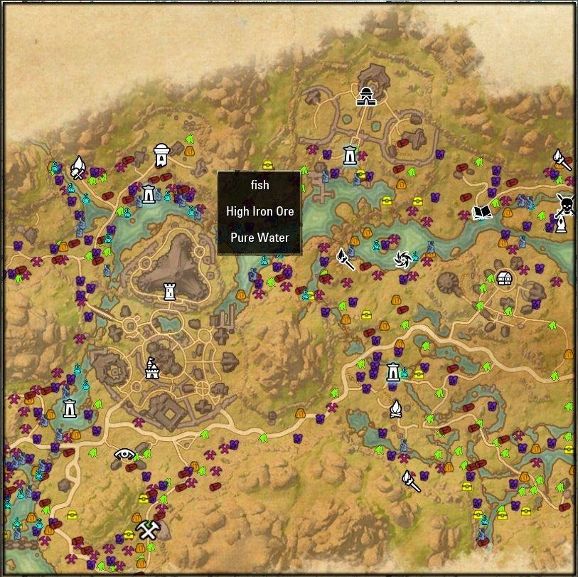 Harvest Map | Favorite ESO Mods | Pinterest | Elder scrolls online ...