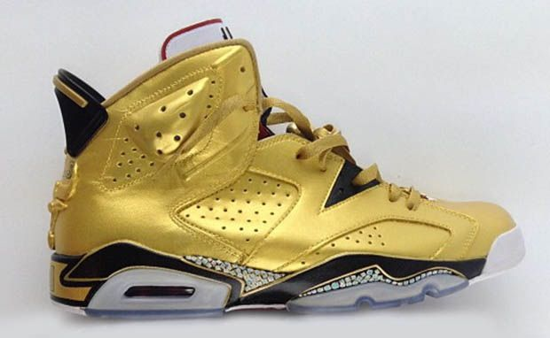 jordan gold shoes