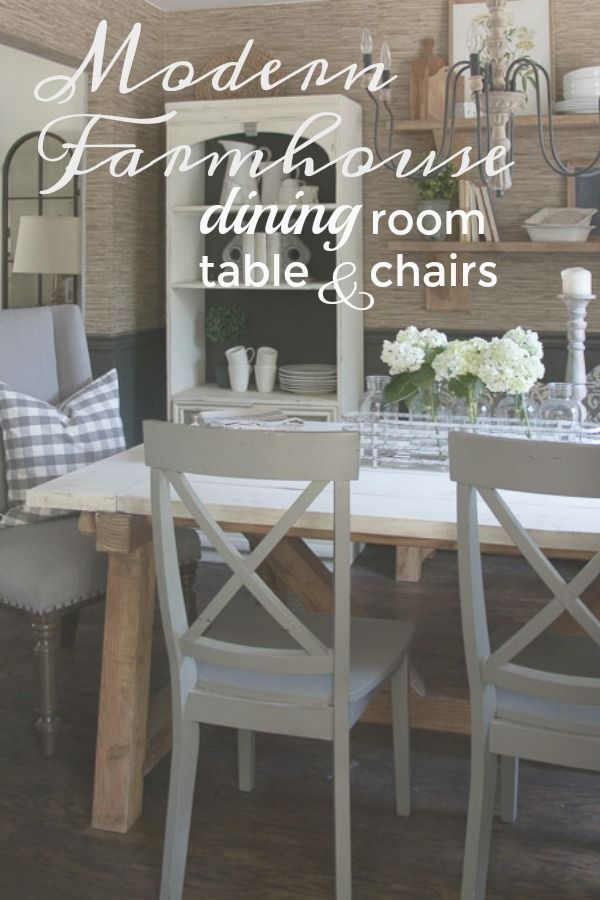 Farmhouse Dining Room Table And Chairs Farmhouse Dining Room Set