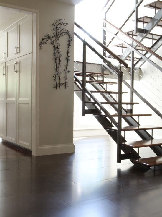 Best Staircase Center Stringer Stair Railing Connected To 400 x 300