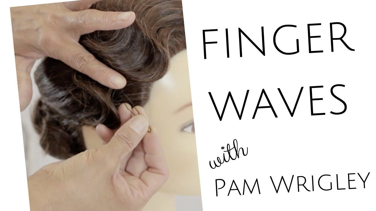 Vintage Finger Wave Tutorial Learn How To Style Classic 1920 S Flapper Style Vintage Waves Youtube Finger Wave Hair Finger Waves Tutorial Finger Waves
