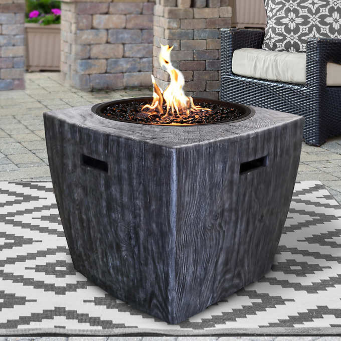 Set up a warm outdoor spot to. Sunbeam Wave Fire Pit in 2021   Propane fire pit table