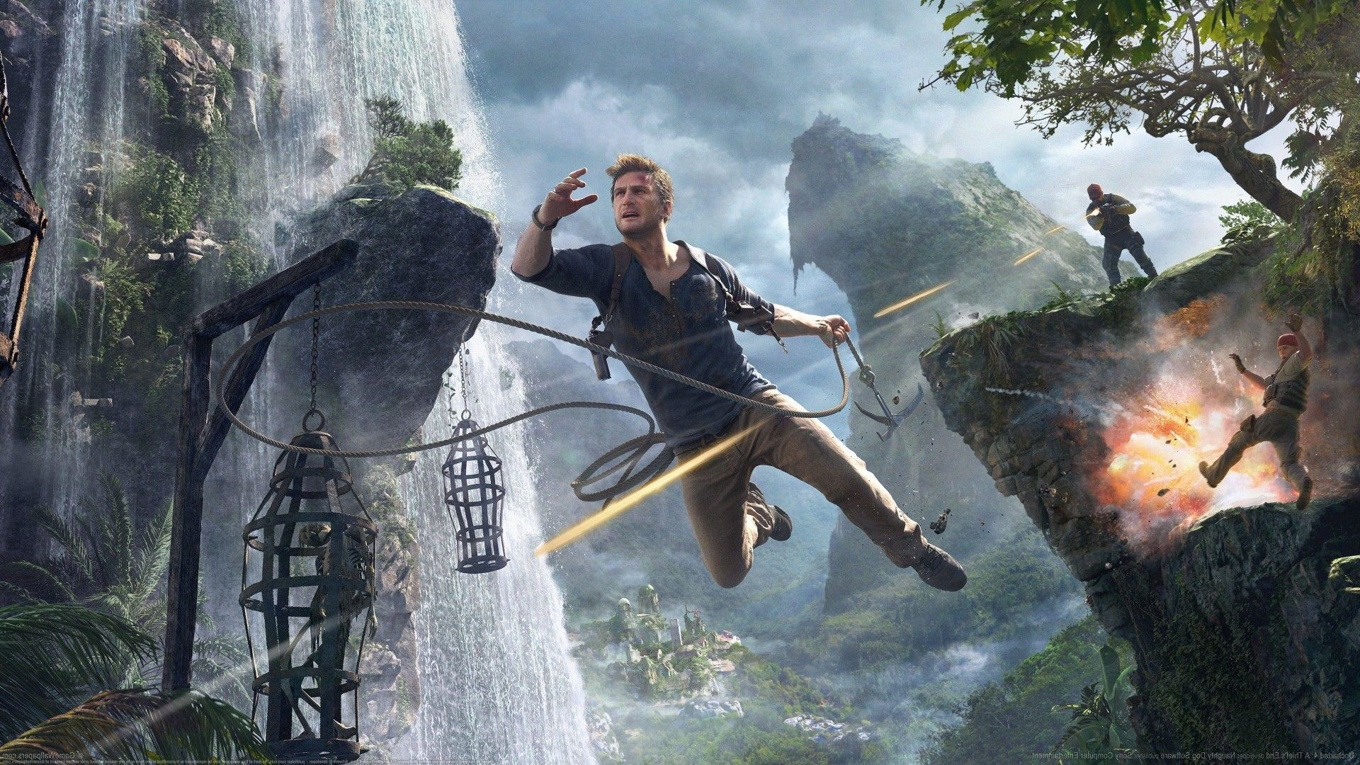 Uncharted 4 A Thief S End Uncharted Game Sales Tom Holland