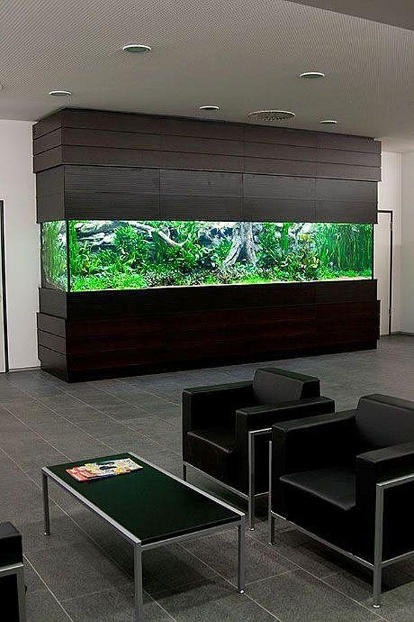 20 Modern Aquarium Design For Every Interior Aquarium