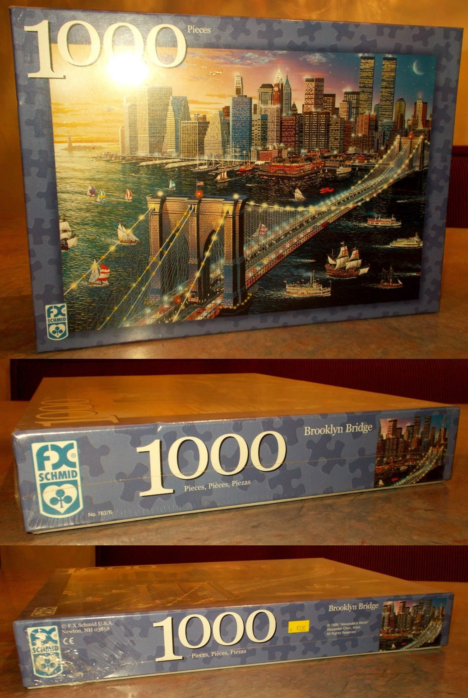 Other Vintage Puzzles 730: Vintage Brooklyn Bridge Jigsaw