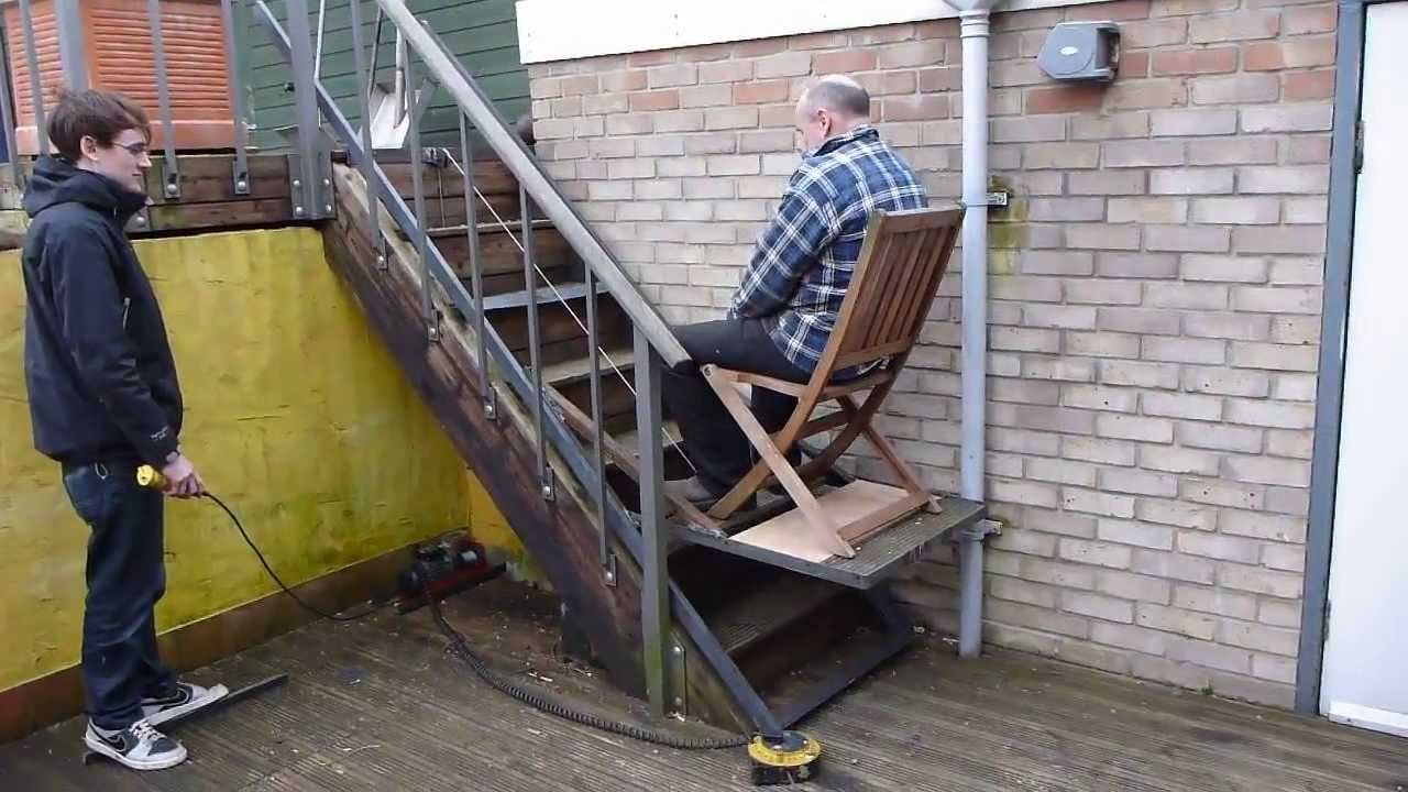 This Stairway Lift Is Really Useful For People Who Use Wheelchairs Because It Provides Them And Easier Way To Be Able To Do A Stair Lift Chair Lift Stair Lifts