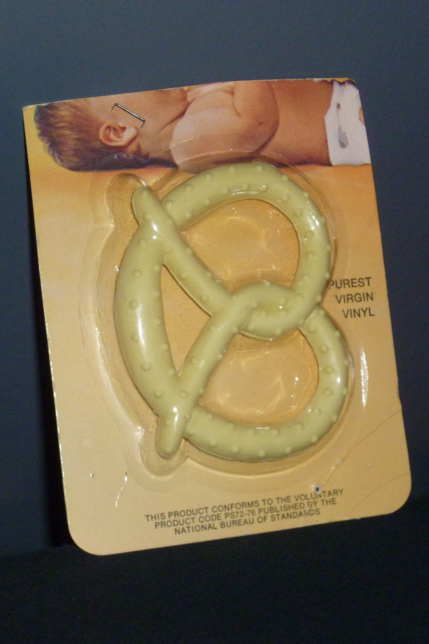 Vintage Baby Joy Teether Toy Pretzel - New in Package ...