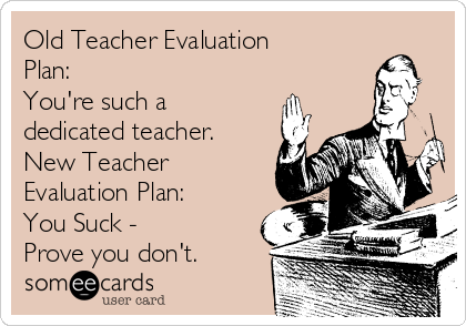 Old Teacher Evaluation Plan YouRe Such A Dedicated Teacher New