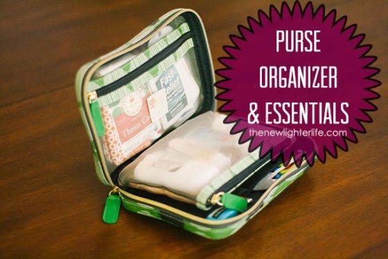 How To Organize Your Purse Organizer Essentials