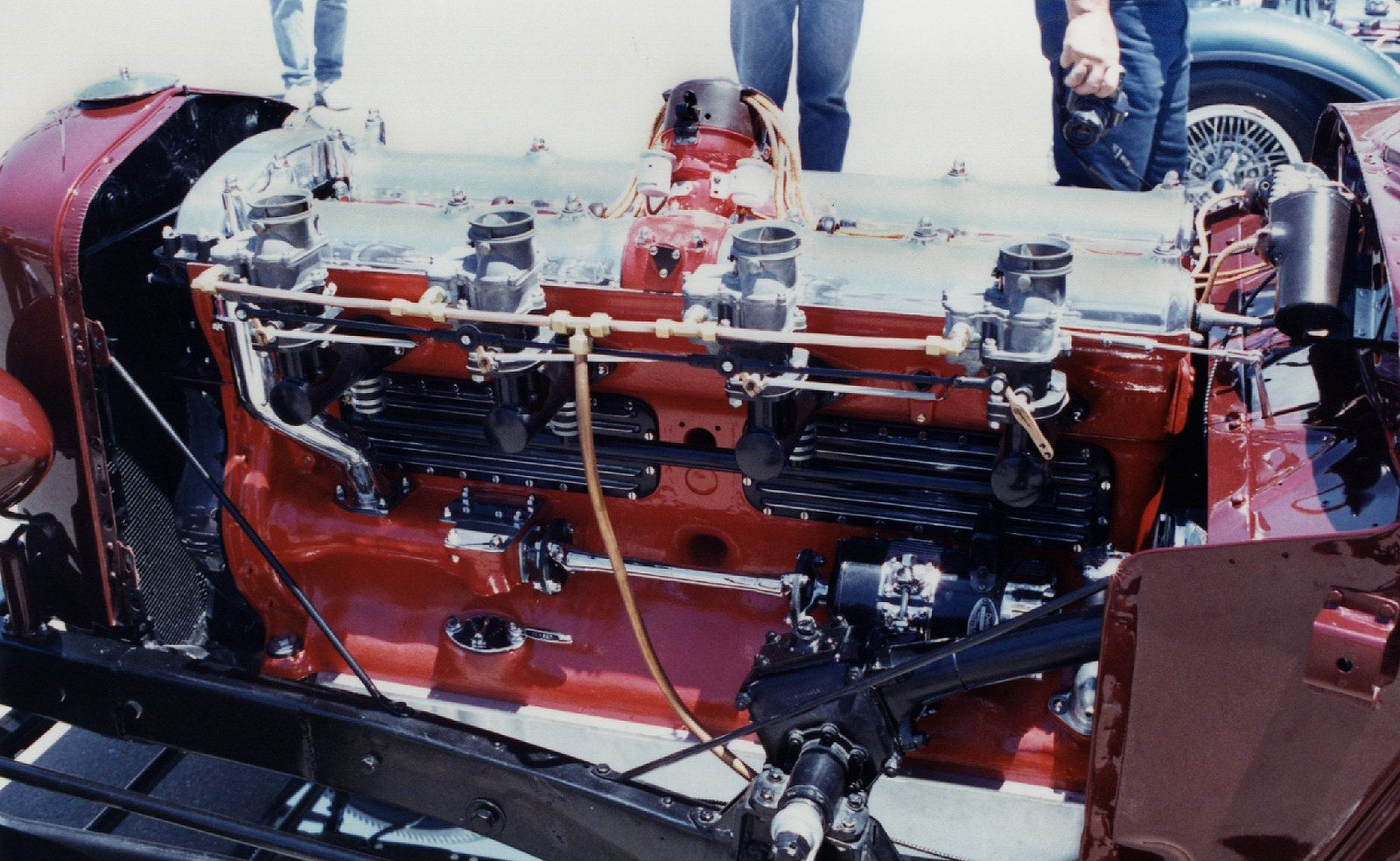 Hot Rod Duesey | Big Duesenberg straight eight cylinder engi… | Flickr