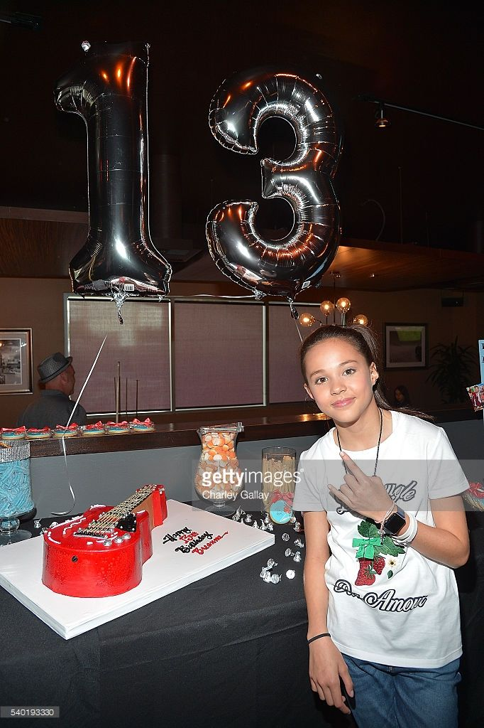 Breanna Yde Attends Her 13th Birthday Party At Lucky Strike Lanes LA Live On June 11 2016 In Los Angeles California