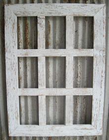 9 Pane Barn Wood Picture Frame 4x6 Barn Wood Frames