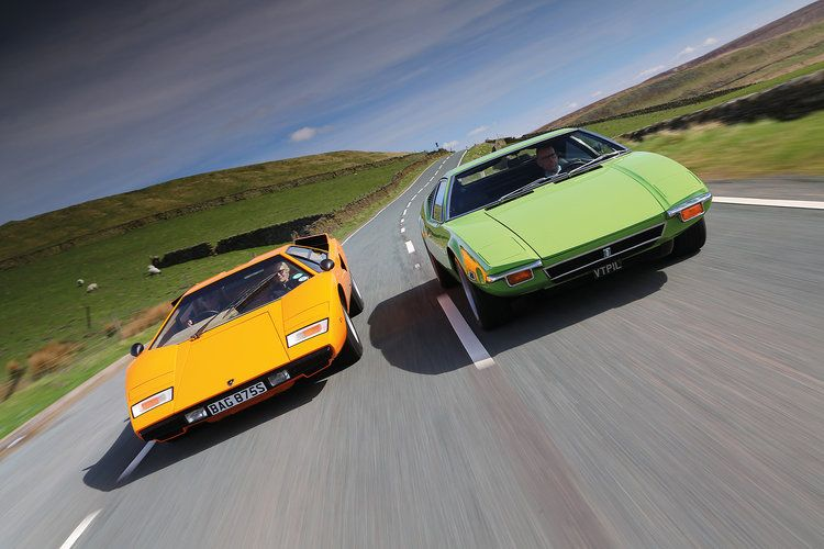 For Sale Fully Restored 1972 De Tomaso Pantera UK. Images