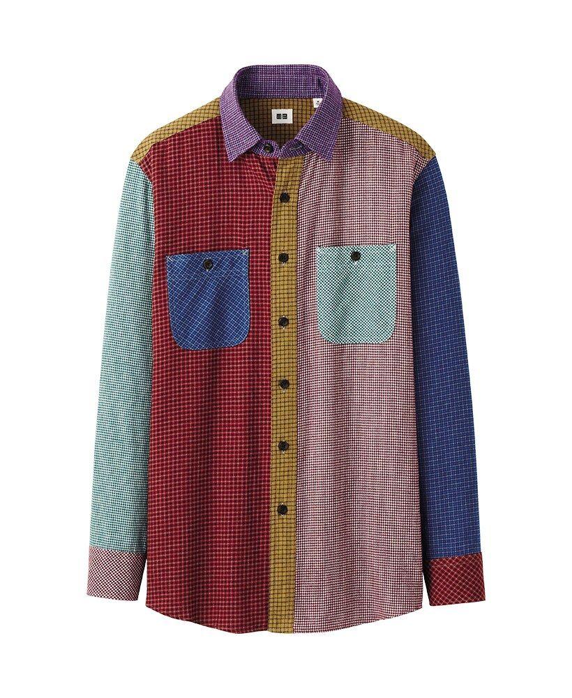 Uniqlo flannel jacket  Uniqlo Mens Flannel  Style Inspiration  Pinterest  Camisas