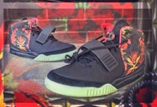 """e5479bd1b216 Nike Air Yeezy 2 """"Givenchy"""" Mache Custom Sneaker (New Images ..."""