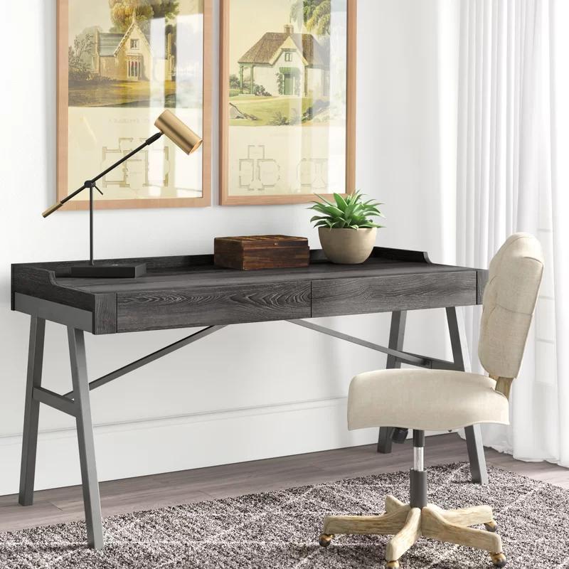 Williford Rectangular Writing Desk In 2020 Writing Desk Desk