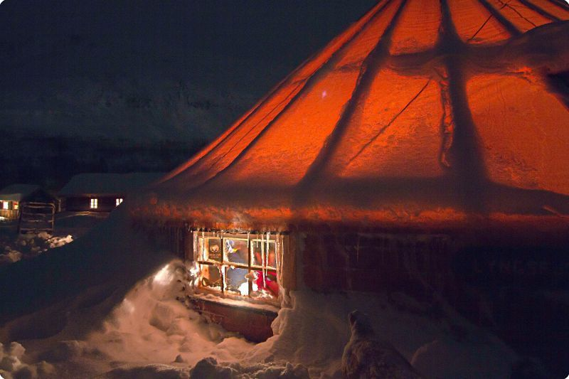 Tromso one of the Best places to see the magical Northern Lights! Spend the night at C& Tamok in Wilderness Cabin Sami Tent or Aurora Chalet! & Tromso one of the Best places to see the magical Northern Lights ...