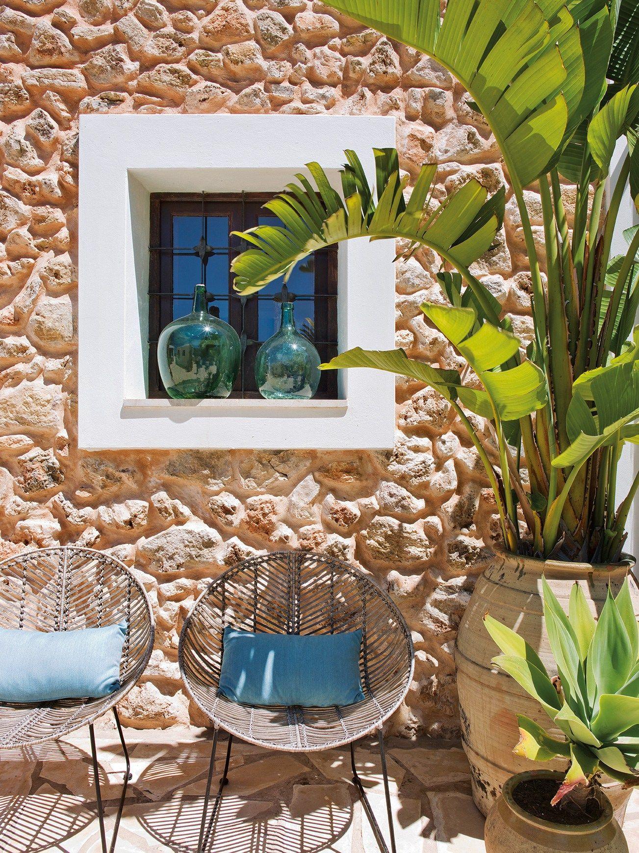 Una Finca Glamour A Ibiza Charme And More Stile Toscano Case Estive Progetto Casa Di Campagna