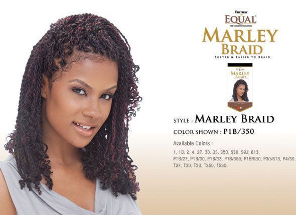Freetress Equal Marley Braid Choose Your Color