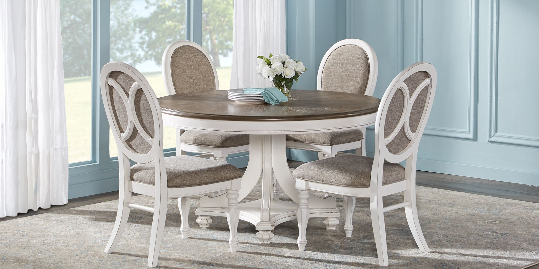 39+ Rooms to go round dining set Various Types