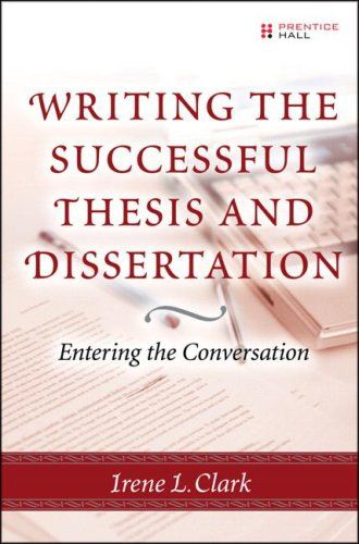 dissertation advice books